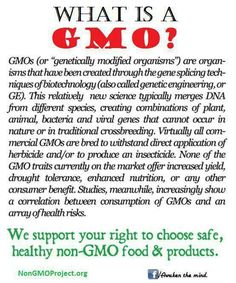 "GMO - ""Natural"" doesn't mean non-GMO - BUY ORGANIC!! GMO USA=NO LABELS!!"