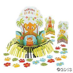 Lion King Baby Table Decorating Kit-M's Shower
