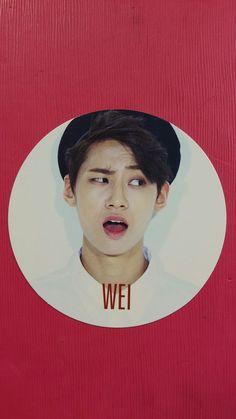UP10TION WEI Official Photocard So, Dangerous 1st Mini Album Photo Card