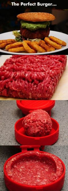 The Perfect Burger… I WILL EAT THIS AND THEN DIE! I WILL BE SO HAPPY!! LOL