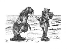 John Tenniel - The Walrus and the Carpenter were walking close at hand