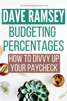 Dave Ramsey, personal finance guru, shows you the best way to divvy up your payc. Dave Ramsey, personal finance guru, shows you the best way to divvy up your paycheck with monthly household budgeting categories. Budgeting Finances, Budgeting Tips, Making A Budget, Making Ideas, Faire Son Budget, Living On A Budget, Frugal Living, Family Budget, Best Budget