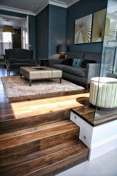 Smoked oak engineered board by AH Peck Flooring