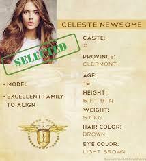 Celeste Newsome- detesto ela !!!!!