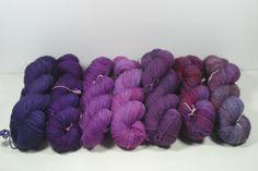 Purple palette Squink, Galactic, Regal, Radiance, Grape Juice, Jam Sessions, Shepherd's delight