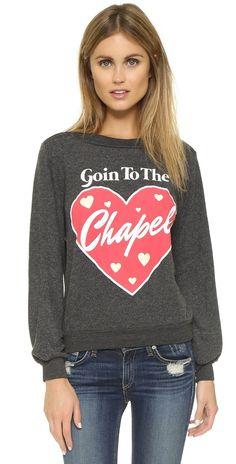 Wildfox Goin to the Chapel Sweatshirt   SHOPBOP