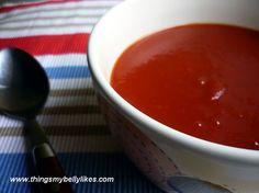 SCD Creamy Tomato Soup (*Use SCD legal tomato paste & substitute SCD yogurt for heavy cream...)