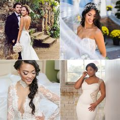 No Blushing Brides Here! These Bridal Beauties Are OWNING Their Sexy Wedding Gowns