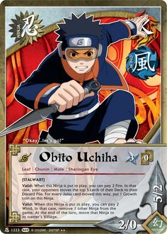 J-424 DEADLY COMBINATION Rainbow Letters Rare Naruto Card 1st ...