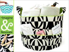 Re-imagine & Renovate - Put A Gift In It: Jumbo Fabric Tub