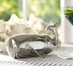 Whale Cocktail Shaker | Pottery Barn