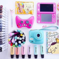 Share your hobbies!!!!! Drawing and games sounds like me!! This pic is by @meili_ @annimint tagged me to show my hobbys in a picture. Thank you. And here it is! Show me your hobbys!! #nerdyflatlay