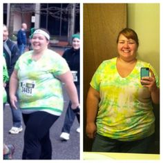 Becca lost 87.2 pounds through diet and exercise.