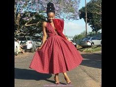 shweshwe traditional dresses designs for women – fashion - NALOADED Xhosa Attire, African Attire, African Dress, African Wear, African Style, Sesotho Traditional Dresses, South African Traditional Dresses, Traditional Wedding, Sishweshwe Dresses
