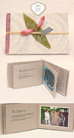 DIY invitation book - wow!