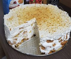 Diabetic Recipes, Diet Recipes, Cooking Recipes, Hungarian Desserts, Vanilla Cake, Oreo, Food And Drink, Sweet, Cukor