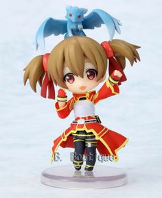 Silica figure from Sword Art Online anime $33