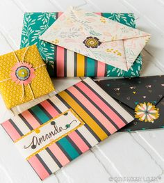 If ordinary isn't your style, go extraordinary with crafty paper and cardstock!