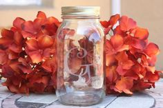 Monogrammed One Quart Mason Jar with Lid by GracefullySouthern, $12.00