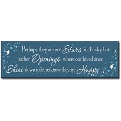 My Word! 'Perhaps They Are Not Stars' Wall Sign ($12) ❤ liked on Polyvore featuring home, home decor, wall art, word wall art, wall signs, star home decor, typography wall art and mounted wall art