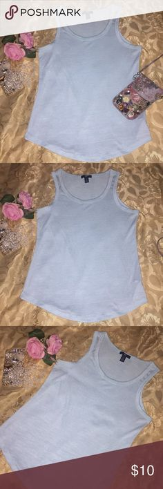 SPRING SALE 🌹 GAP Top 🌹 Sleeveless GAP Top in sweater-like material.  Very pretty and soft.  Measurements provided in pictures!  🌹Size: Small 🌹Color: Light Green 🌹Material: 48% Polyester, 48% Rayon, 4% Spandex 🌹Condition: Pre-loved; In great condition!  🌹CHECK OUT MY OTHER LISTINGS FOR GREAT FINDS! GAP Tops