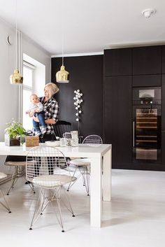 A monochrome home in Helsinki, Finland