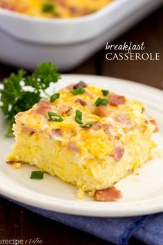 When I tell you that this is the BEST breakfast casserole it is no joke.  I have made a few breakfast casseroles in my day and this one became an instant favorite! I especially loved this casserole because it was so hearty and full of wonderful breakfast goodness.  It is a classic breakfast casserole with …