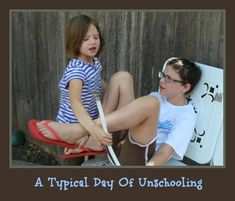 What does a day of unschooling look like?