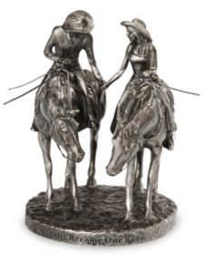 Cake topper from Montana Silversmiths