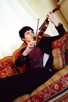 [Self] BBC Sherlock cosplay where I realized that I do not know how to properly hold a bow. - Imgur