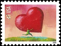 ALL HEART: What more could you give? (� 2007/USPS All Rights Reserved)
