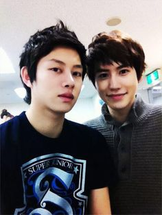 if the devil and evil magnae tried to selca - Heechul,Kyuhyun