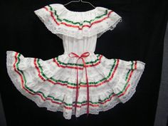 Mexican Fiesta Dress 0  3 months by raquells27 on Etsy, $25.00