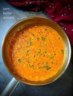 Corn Butter Masala