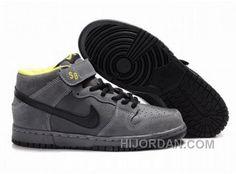 more photos e830b c1335 Hot Mens Nike Dunk Sb High Top Shoes Black Dark Grey, Price   90.00 - Air  Jordan Shoes, Michael Jordan Shoes