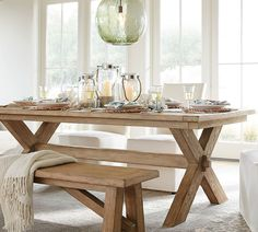 60 Modern Farmhouse Dining Room Table Ideas Decor And Makeover 59 farmhouse Farmhouse Dining Room Table, Dining Table With Bench, Extendable Dining Table, Dining Room Sets, Kitchen Dining, Kitchen Decor, Wooden Dining Tables, Rustic Table, Long Narrow Dining Table