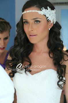 peinado suelto para novia