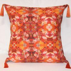 Terra Cotta Collage Pillow