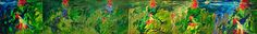 "Юрий Ермоленко, ""КВОК"", 2002, холст, масло, 130х900 см. Центральный Дом художника, Киев, Украина  #YuryErmolenko #еrmolenko #ЮрийЕрмоленко #ермоленко #yuryermolenko #юрийермоленко #юрiйєрмоленко #ЮрiйЄрмоленко #єрмоленко #rapanstudio #modernart #fineart #contemporaryart #art #painting #живопись #conceptart #abstractpainting #abstract #texture #colorfull #expressive #impressive #energy #strong #power #gallery #exibition #выставка #artproject #oilcanvas #oilpainting #artwork #галерея #green…"