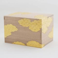 classic 桐源氏雲茶箱 Decorative Boxes, Packaging, Design, Wrapping, Decorative Storage Boxes