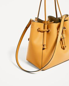 Image 4 of CONVERTIBLE BUCKET BAG from Zara