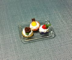 Hey, I found this really awesome Etsy listing at https://www.etsy.com/listing/159508277/dessert-set-miniature-clay-polymer-3
