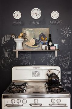 Chalkboard Paint in the Kitchen: Fresh Ways to Use It | Apartment Therapy