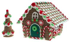 (4) Name: 'Crocheting : Gingerbread Cottage