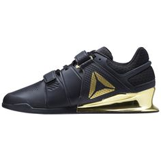 outlet store f08be 34c39 Reebok Men s Legacy Lifter in Black Gold Size 9 - Training Shoes