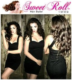 Actress and model Kalista Duvey showing off her gorgeous hair that she styled using Sweet Roll Hair Styler! Roll Hairstyle, Ponytail Styles, Hair Styler, Gorgeous Hair, Hair Products, Curls, Style Me, Natural Hair Styles, Actresses