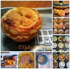 El festín de Marga: Mini Apple pies (tartitas de manzana)