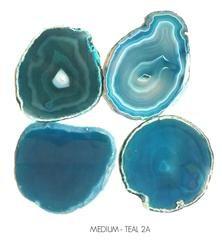 Agate Coasters - Set 4