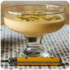 Mousse de maracujá low carb | Vídeos e Receitas de Sobremesas