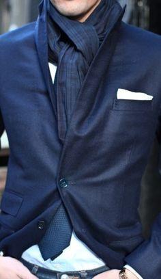 Men's Street Style #blues
